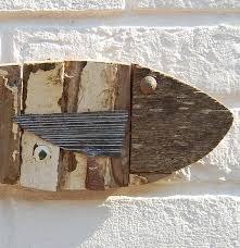 wooden fish fishing boat white fish fish wall and