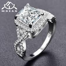 gold coloured rings images Mdean white gold color rings for women wedding ring women rings jpg