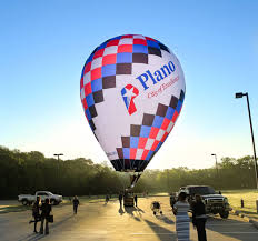 balloon delivery plano tx plano unveils new hot air balloon city considers it key marketing