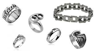 Harley Davidson Wedding Rings by Biker Jewelry Rings Bracelets Harley Davidson Stainless Steel