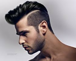 men clipper cut styles hairstyle with a high quiff and clipper cut sides