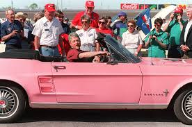 pink convertible cars 7 presidential cars to celebrate the commanders in chief