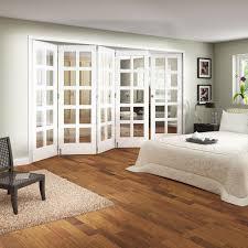 Jeld Wen Room Divider Jeld Wen White Primed Shaker 5 Door Room Fold Slide