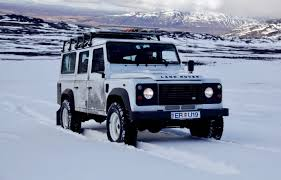 land rover snow next generation land rover defender may get electrified the