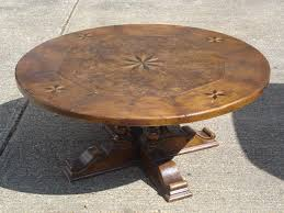 round walnut dining table antique furniture warehouse large round walnut dining table 6ft