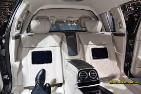 mercedes maybach 2015 2015 mercedes maybach s600 pullman interior 05 2015 geneva motor
