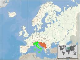 Italy Time Zone Map by Italy U2013yugoslavia Relations Wikipedia