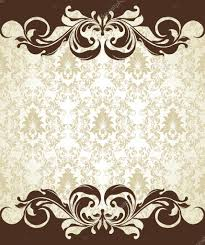 Invitation Card Background Invitation Card On Floral Background With Place For Text U2014 Stock