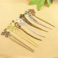 hair sticks 10pcs vintage hair stick metal alloy kanzashi japanese hair sticks
