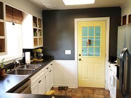 kitchen interior doors yellow interior door for the kitchen home designs project home devotee