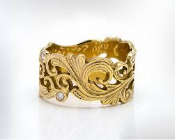 vintage jewelry 14k diamond engagement ring art nouveau wedding
