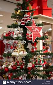 christmas tree decorations at macy u0027s department store in the