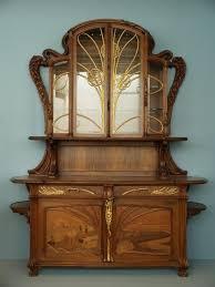Curio Cabinets Richmond Va Sideboard Emile Galle Ca 1903 Virginia Museum Of Fine Arts