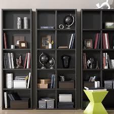 furniture elegant mid century modern shelves design with dark