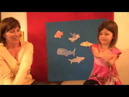 a slippery fish felt board story children s songs and