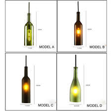 Wine Glass Pendant Light Wine Bottle Pendant Light Ebay