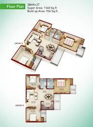 greenarch floor plans 2 3 4 bhk apartment in greater noida west