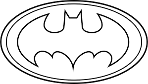 batman logo outline free download clip art free clip art