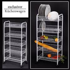 metallregal küche küchenwagen metallregal aufbewahrungsregal küchentrolley küche
