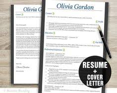 perfect for internship applications blue and grey resume