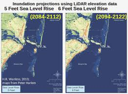 More Sea Level Rise Maps Global Warming Threat Florida Could Be Overwhelmed By Sudden Sea