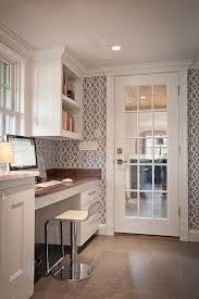 how to make a desk from kitchen cabinets kitchen office desk wall paper home office wallpaper laundry