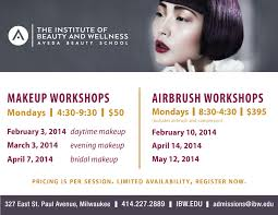 makeup classes milwaukee institute of beauty and wellness new 1 day makeup workshops