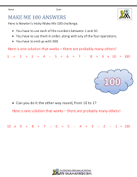 Mixture Word Problems Worksheet 4th Grade Math Problems