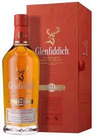 Scotch Gift Basket Glenfiddich 21 Year Old Single Malt Scotch Whisky Gift Box 70cl
