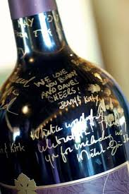 wine bottle guest book wedding ideas creating a wine bottle guest book labelvalue