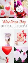 heart doily valentine balloons design improvised