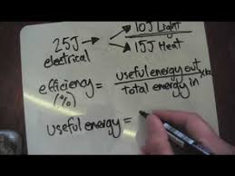 energy of light calculator efficiency calculation youtube