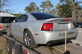mustang cobras for sale for sale 2004 cobra terminator front end damage ford mustang