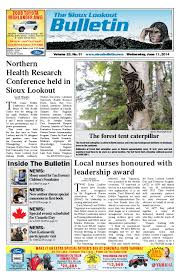 the sioux lookout bulletin vol 23 no 31 june 11 2014 by