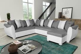 canap d angle blanc et gris canapé d angle blanc et gris idées de décoration intérieure