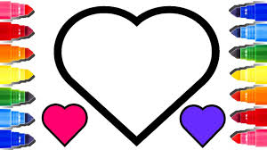 number one heart coloring page u0026 mix coloring pages youtube