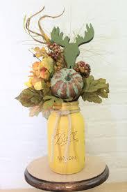 Mason Jar Floral Centerpieces Mocha Espresso Pint Mason Jar Floral Planter Box Centerpiece