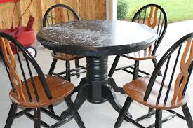 How To Paint A Table The Four P U0027s Of Refinishing Furniture With Paint How To Paint A