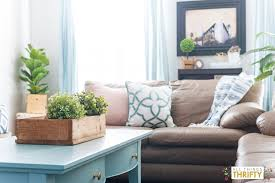 pink navy blue and jade family room decor reveal jo u0027s house