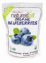 new organic and freeze dried raspberries at whole foods market