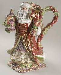 fitz and floyd renaissance santa so majestic ideas