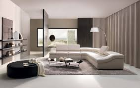 cozy living room interior with white painted wall color and square