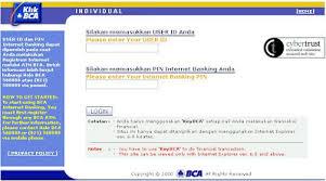 Klikbca Individual Cara Registrasi Klikbca Individual Banking Bca Catatan Pena