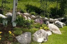 rocks garden garden interesting front yard landscape designs easy