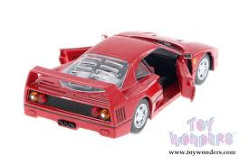 model f40 f40 top by bburago race play 1 24 scale