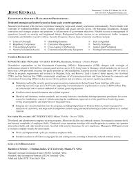 Officer Resume Resume Format For Security Officer And Chief Information Security