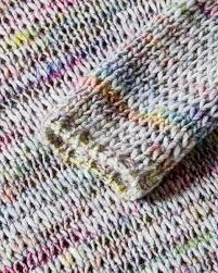 multicolor sweater light gray benetton