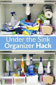 ideas to organize kitchen how to organize under the kitchen sink space kitchen pound