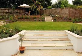 Sloping Garden Ideas Photos Sloped Garden Landscaping Garden Designs Dealing With Sloped