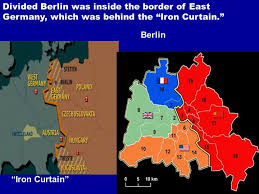 Eastern Europe Iron Curtain The Iron Curtain Divided The World Into Savae Org